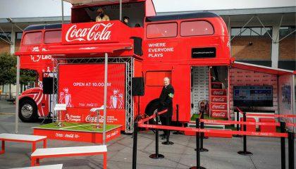 Coca-Cola Premier League Trophy Tour 2019